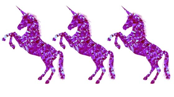 3 unicorn star rating