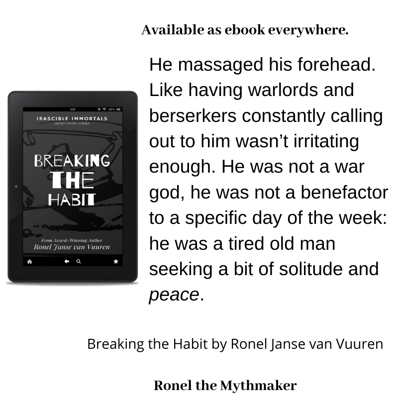 breaking the habit book extract