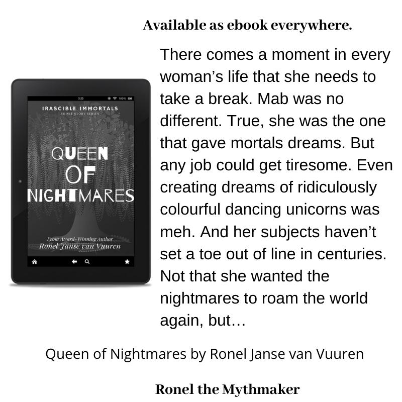 queen of nightmares book extract