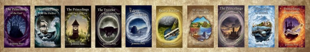 all princelings book covers