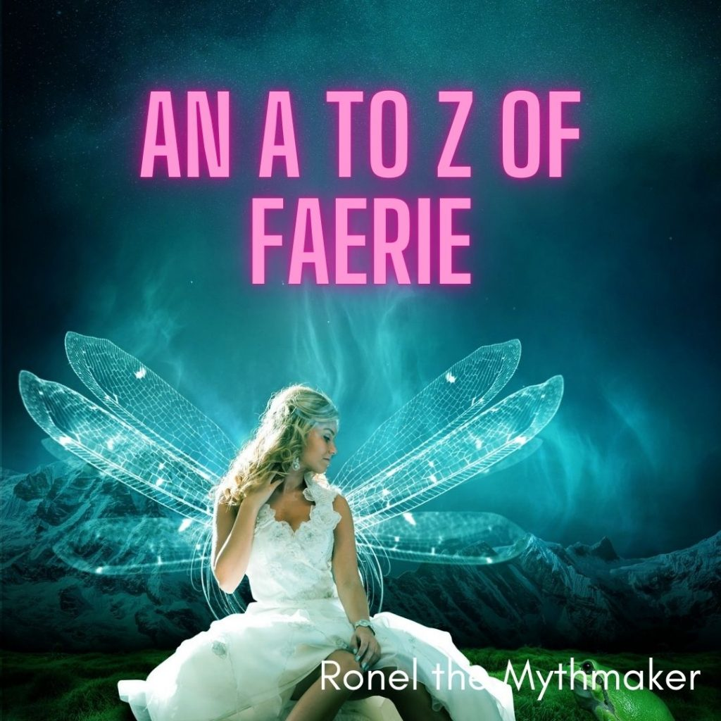 an a to z of faerie with faery image